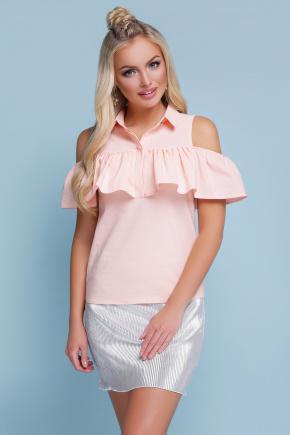 блуза Калелья б/р. Цвет: персик