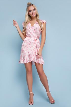 платье Алиса б/р. Цвет: персик горох