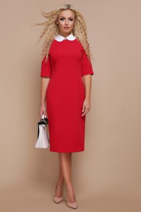 Платье Ундина 3/4. Цвет: красный
