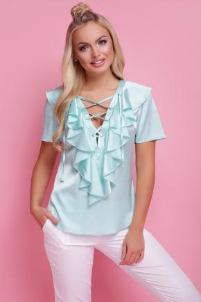 блуза Сиена к/р. Цвет: мята