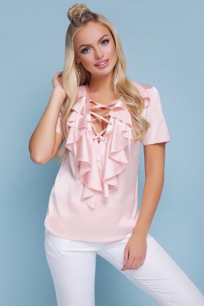 блуза Сиена к/р. Цвет: персик