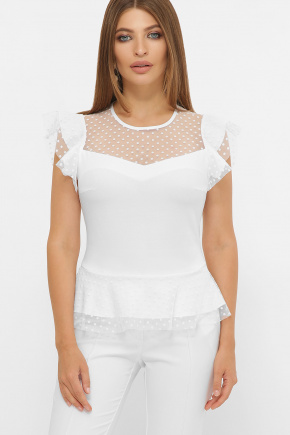 блуза Лайза б/р. Цвет: белый