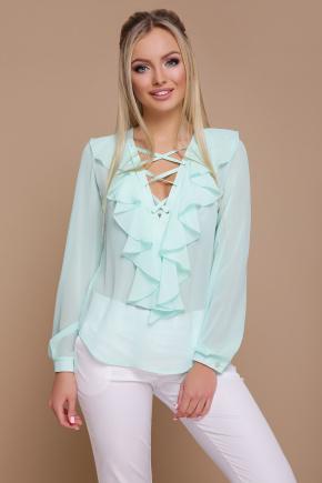 блуза Сиена д/р. Цвет: мята
