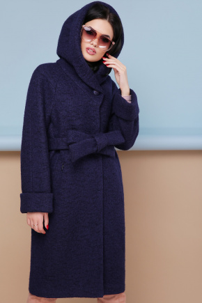 пальто П-304-100. Цвет: 1401-т.синий