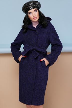 пальто П-304-100. Цвет: фиолетовый