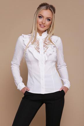 блуза Амина д/р. Цвет: белый