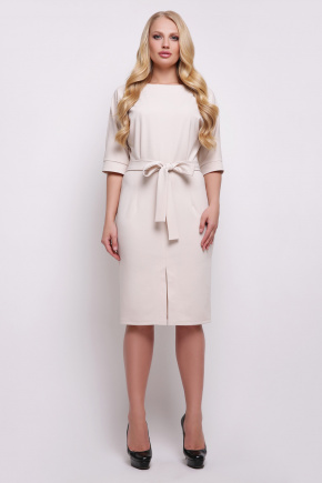 платье Руся-Б к/р. Цвет: св. бежевый