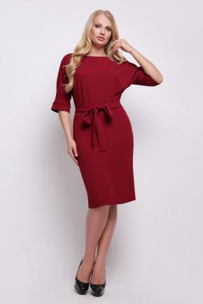 платье Руся-Б к/р. Цвет: бордо