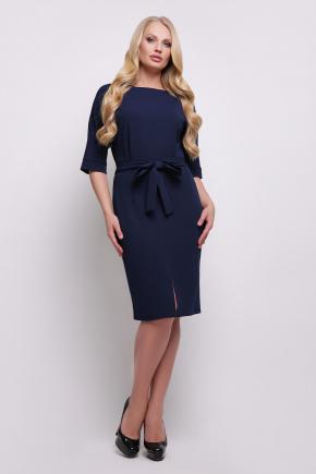 платье Руся-Б к/р. Цвет: т.синий