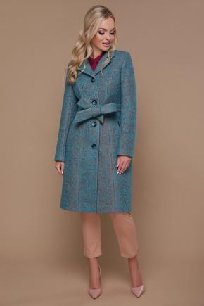 пальто П-316. Цвет: 1221-волна