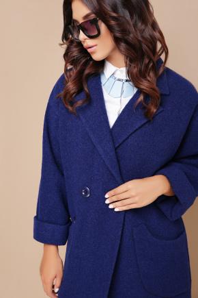 пальто П-301-90. Цвет: 114-синий