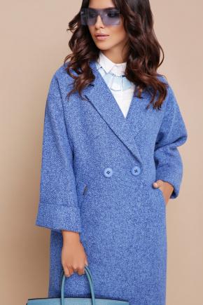 пальто П-300-90. Цвет: 1803-голубой