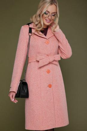 Пальто П-316. Цвет: 1103-морковь