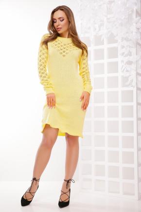 Платье 150. Цвет: лимонный