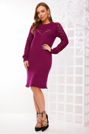 Платье 150. Цвет: баклажановый