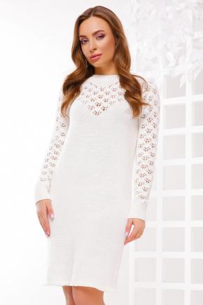 Платье 150. Цвет: молоко