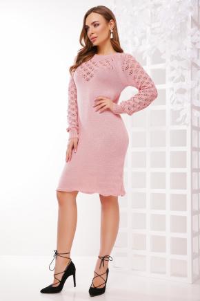 Платье 150. Цвет: темная пудра