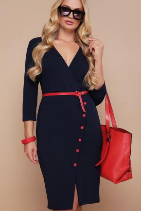 платье Элария-Б д/р. Цвет: синий