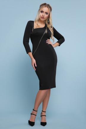 платье Лилита д/р. Цвет: черный