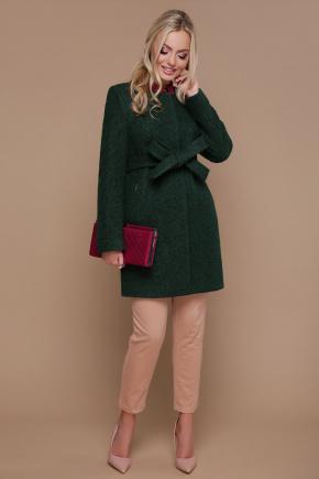 пальто П-337. Цвет: 1225-темно-зеленый