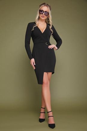 платье Виолетта д/р. Цвет: черный