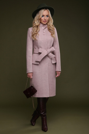 Пальто П-83. Цвет: розовый