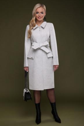 Пальто П-83. Цвет: белый