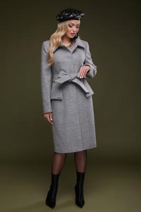 Пальто П-83. Цвет: серый