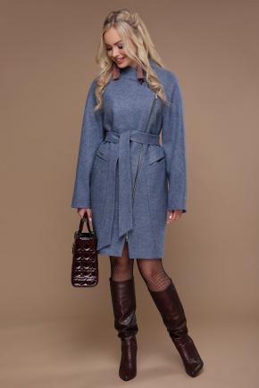 Пальто ПМ-84. Цвет: голубой