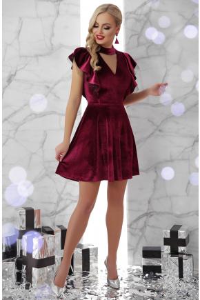 платье Джолана б/р. Цвет: бордо