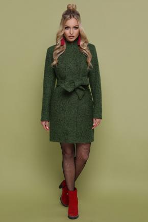 пальто П-308. Цвет: 1203-зеленый