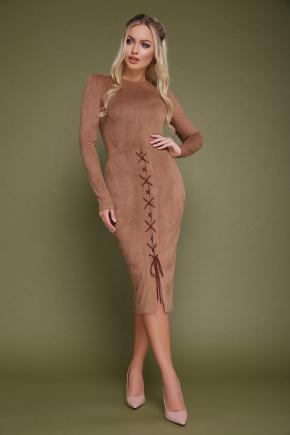 платье Таяна д/р. Цвет: бежевый