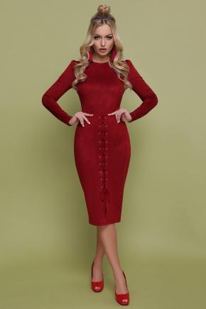 платье Таяна д/р. Цвет: бордовый