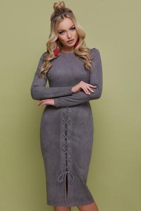 платье Таяна д/р. Цвет: серый