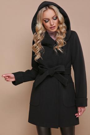 пальто П-3 кз. Цвет: черный