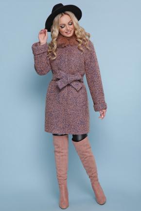 пальто П-302-85 зм. Цвет: 1208-розовый