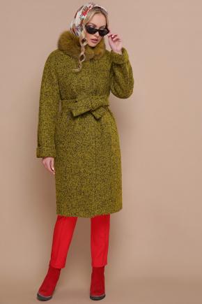 пальто П-302-100 зм. Цвет: 1222-карри