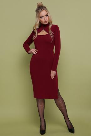платье Альбина д/р. Цвет: бордо