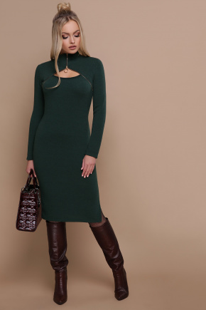 платье Альбина д/р. Цвет: изумруд