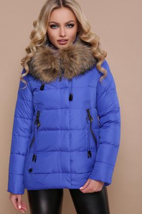 Куртка 18-168. Цвет: электрик