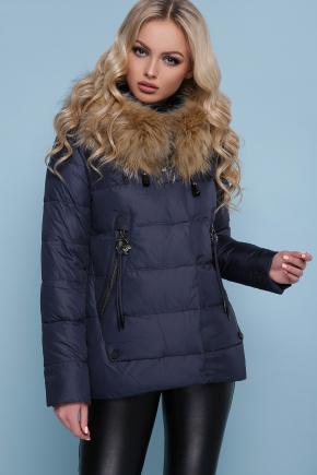 Куртка 18-168. Цвет: синий