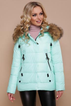 Куртка 18-168. Цвет: мята