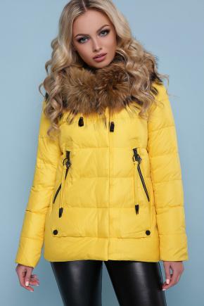 Куртка 18-168. Цвет: желтый