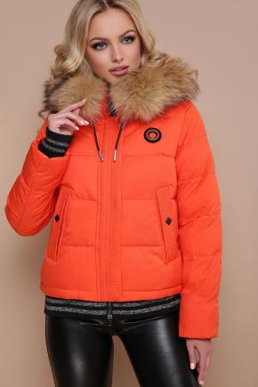 Куртка 18-132. Цвет: оранжевый