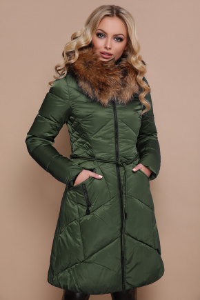 Куртка 18-86. Цвет: зеленый