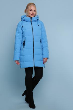 Куртка 18-051-Б. Цвет: голубой