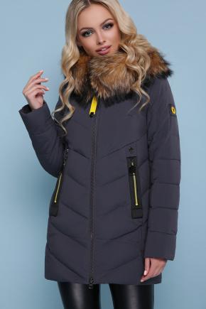 Куртка 18-183. Цвет: серый