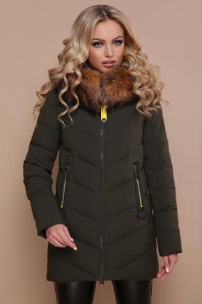 Куртка 18-183. Цвет: хаки