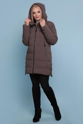 Куртка 18-051-Б. Цвет: коричневый