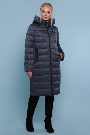 Куртка 18-197-Б. Цвет: серо-синий